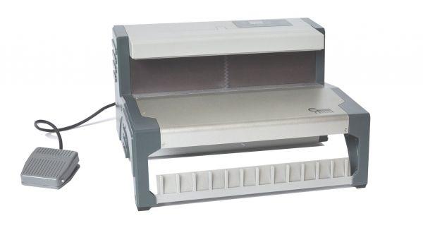 E-BINDER, elektrische Schließmaschine für Drahtkamm