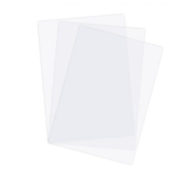 Deckblätter, DIN A4, transparent klar 0,15 / 0,2 / 0,3 mm
